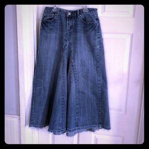 Baccini Jean skirt 34 inches long